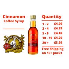 Douwe Egberts Cinnamon Coffee Syrup 250 ml