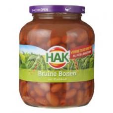 HAK Dutch Brown Beans (BRUINE BONEN) Jar 720gr